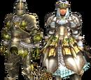 Rathian X Armor (Blade) MHFU