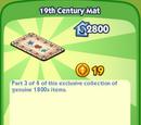 19th Century Mat