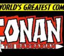 Conan the Barbarian Vol 2
