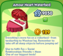 Amour Heart Waterbed