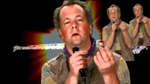 Gale sings Major Tom