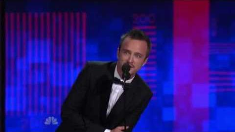 Aaron Paul wins his first Emmy