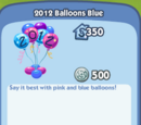 2012 Balloons Blue