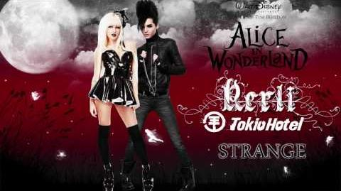 Strange - Tokio Hotel ( Feat. Kerli ) Lyrics Full Song - HD - High Definition