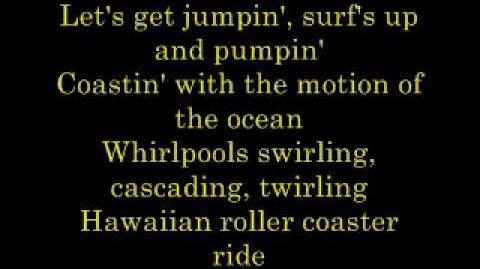 Hawaiian Roller Coaster Ride - Lyrics