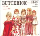 Butterick 3743 A