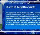 Church of Forgotten Saints