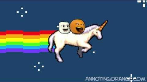 Nyan Nya Orange (Nyan Cat SPOOF)