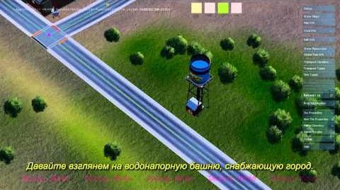 SimCity - движок Glassbox вода, вода повсюду!
