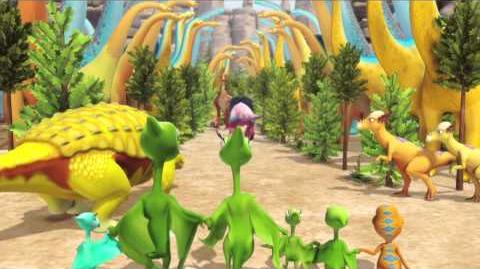 Dinosaur Train Dinosaur Big City -- coming August. 22 Preview 2 PBS KIDS