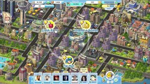 SimCity Social announce trailer