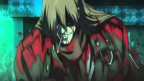 Hellsing OVA 7 Seras Victoria Vs. Zorin Blitz (HQ)