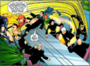 Squadron Supreme (Earth-712) and Global Directorate (Earth-712) from Exiles Vol 1 78 0001.png