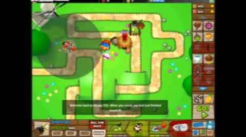Bloons Tower Defense 5-Monkey Lane Hard-With Commentary
