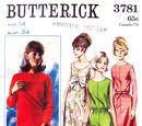 Butterick 3781 A