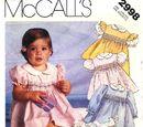 McCall's 2998 A