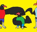 Turkey-Neck Vulture Bros