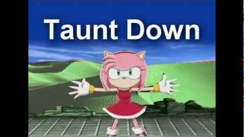 Super Smash Bros Lawl Ultimate - Amy Rose