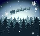 Holiday Magic Background