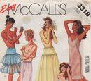 McCall's 3318 A