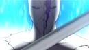 Aizen prepares to attack Yoruichi SR episode 12.png