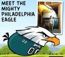 Angry Birds Philadelphia Eagles