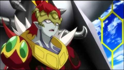 Bakugan Gundalian Invaders Episode 38 Japanese