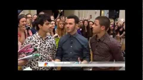 Jonas Brothers on Today Show 08.20.2012