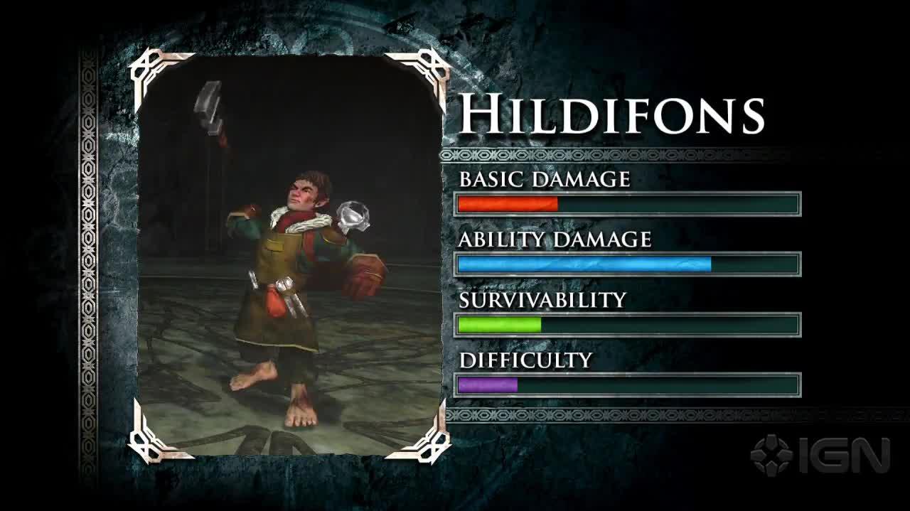 Guardians of Middle-Earth - Sauron & Hildifons Battle Profiles