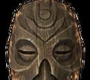 Drewniana maska