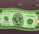 Negative Twelve Dollar Bill
