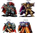 Lufia: The Legend Returns Characters