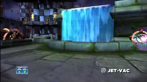 Trailer Skylanders Giants - Jet-Vac Trailer