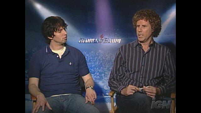 Blades of Glory Movie Interview - Jon Heder & Will Ferrell
