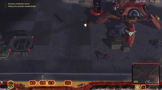 Universe at War Earth Assault PC Games Gameplay - Human Stomping (HD)
