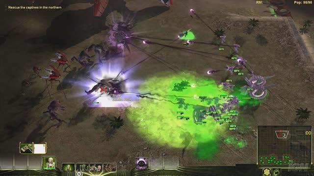 Universe at War Earth Assault PC Games Gameplay - Masari vs. Hierarchy (HD)