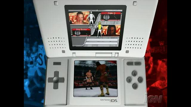 WWE SmackDown vs. Raw 2008 Nintendo DS Trailer - Official Trailer