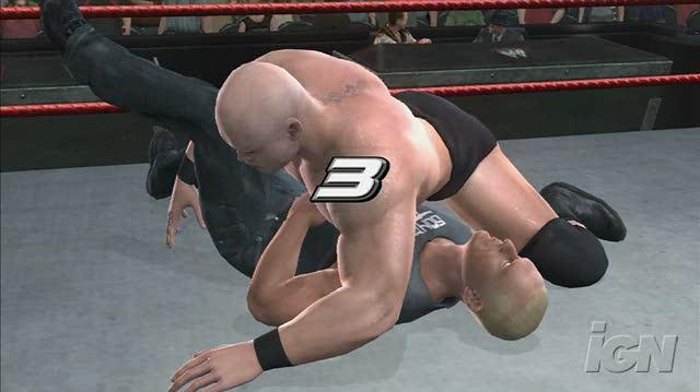 WWE SmackDown vs. Raw 2007 PlayStation 3 Gameplay - Snitsky Pumphandle Slam