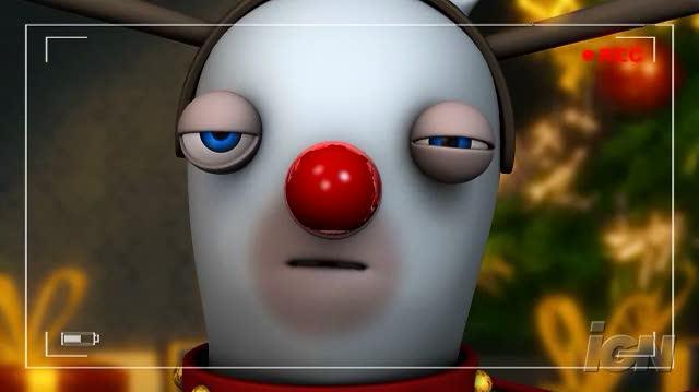 Rayman Raving Rabbids 2 Nintendo Wii Gameplay - Reindeer Games