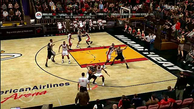 NBA Live 09 Xbox 360 Trailer - The Play