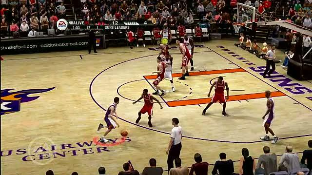NBA Live 09 Xbox 360 Feature-Commentary - Pick and Roll