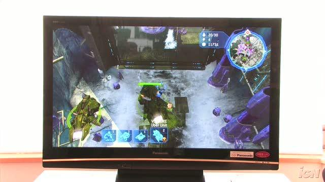 Halo Wars Xbox 360 Feature-Commentary - TGS 2008 Beating Mission (Off-Screen Demo)