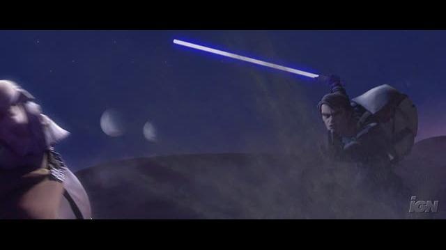 Star Wars The Clone Wars DVD Clip - Dooku vs. Anakin