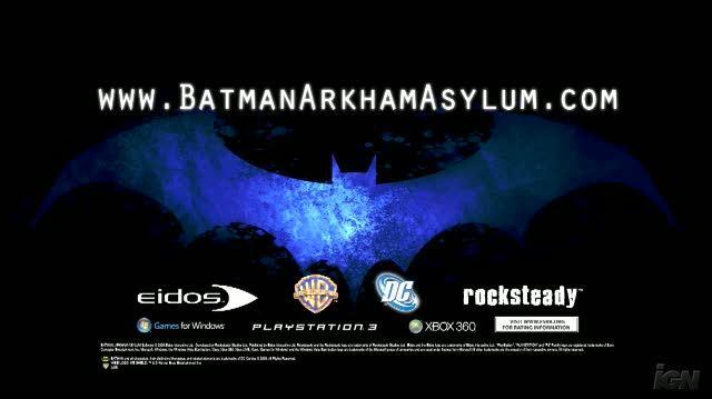 Batman Arkham Asylum Xbox 360 Trailer - Teaser Trailer