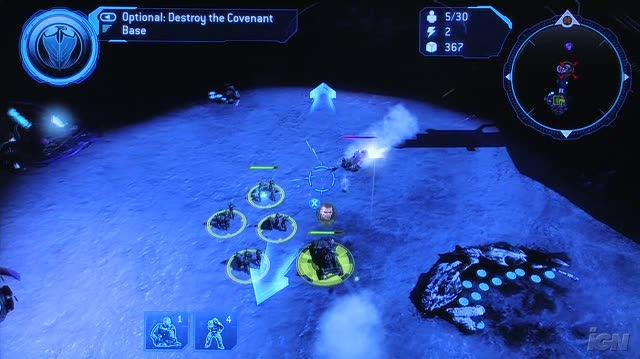 Halo Wars Xbox 360 Gameplay - CES 2009 Base Attack (Off-Screen)