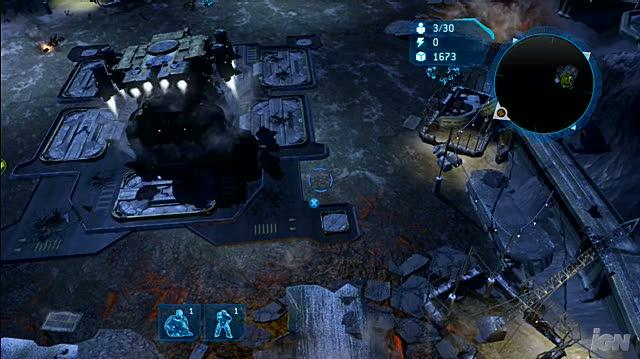 Halo Wars Xbox 360 Gameplay - Basic Base Building