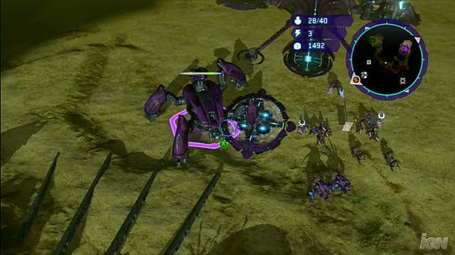 Halo Wars Xbox 360 Preview - UNSC & Covenant Compared