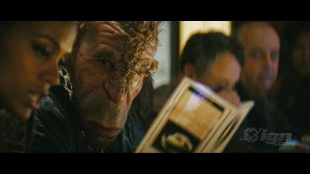 Star Trek Movie Clip - Kirk & Uhura