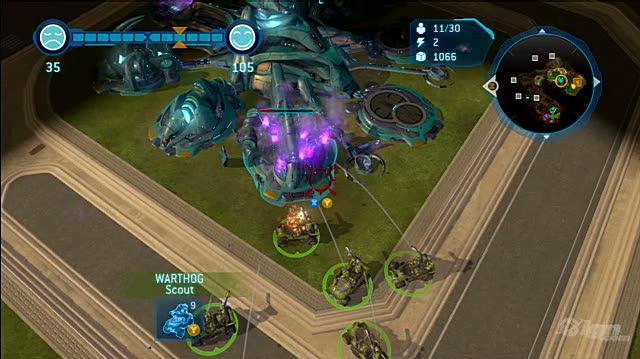 Halo Wars Xbox Live Gameplay - Tug of War