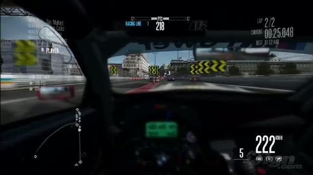 Need for Speed Shift PlayStation 3 Gameplay - E3 09 Driver's Seat